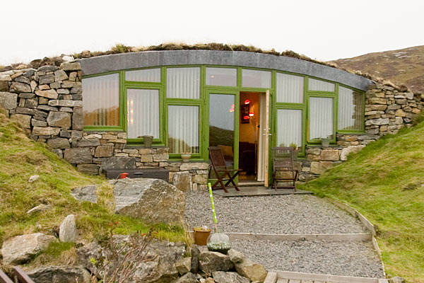 Hebridean Earth House Luxury Self Catering Underground
